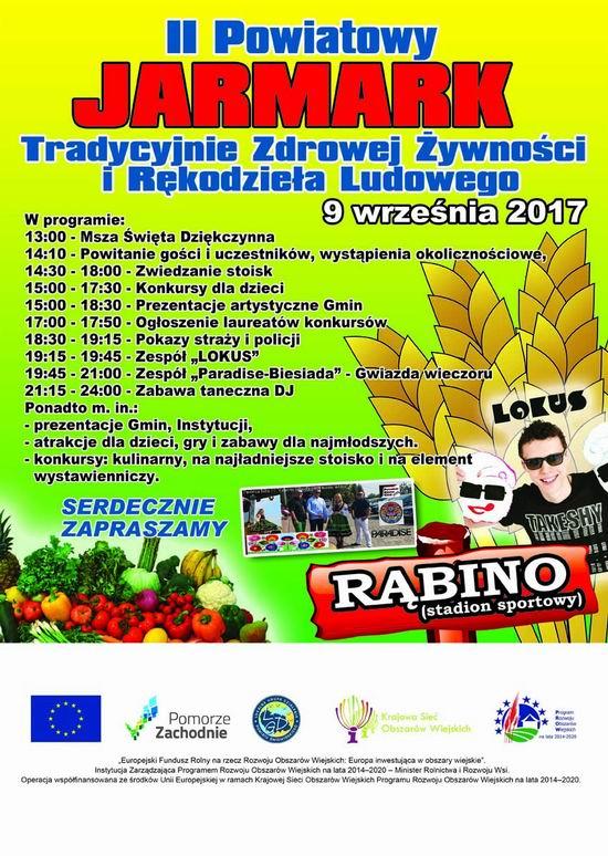 II Powiatowy Jarmark Tradycyjnie Zdrowej Żywności i Rękodzieła Ludowego