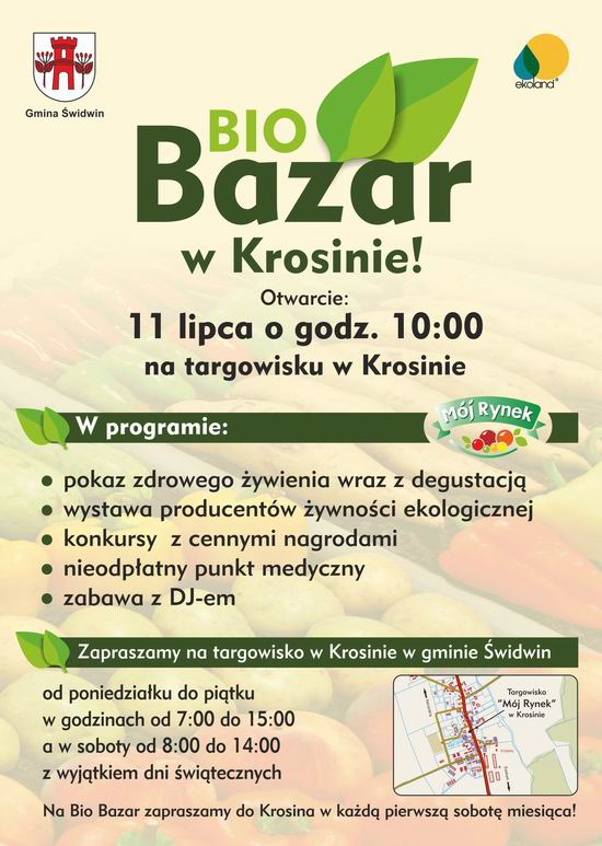 Bio Bazar wKrosinie