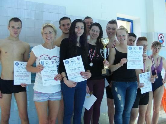 Uczniowskie pływanie
